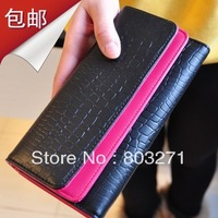 New Arrival 2015 Women Wallet Embossed Stone Leather Pattern Famous Designers Brand Michaeled Wallet Double Layer Women's Wallet