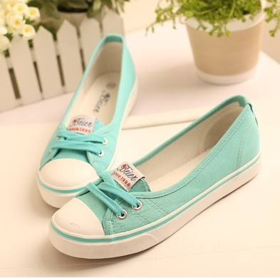 2014 New casual shoes flats for women Summer new arrival shallow mouth flat shoes fashion casual female shoes canvas sneakers(China (Mainland))
