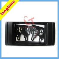 Car refitting DVD frame,DVD panel,Dash Kit,Fascia,Radio Frame,Audio frame for BMW 5, 2DIN