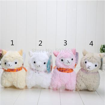 7inch Japanese Arpakasso amuse Genuine Sheep plush alpaca with tags 4colors Toy