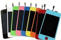 Freeshipping  LCD Assembly  Display with Different Colors for iPod Touch 4