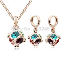 free shipping ball shaped cheap costume jewelry set white goldJs-1111