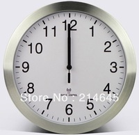 12 inch wall clock radio clock sitting room is contracted supe quartz clock creative clock