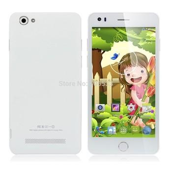 Free Shipping Mijue M680 5 Inch MTK6582 Quad Core Android 4.4 IPS 960X540 1GB RAM 4GB ROM 8MP Dual Sim 3G Cell Phone