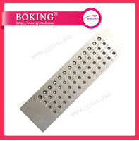 Free shipping half round shape Tungsten carbide drawplate hole size 0.55-3.00mm,30holes jewelry making tools