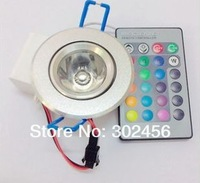 free shipping 3w high power led ceiling rgb/3w led ceiling lamp rgb