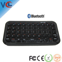 Ultra Slim Mini Bluetooth Keyboard For Pad / PS3 / Smart Phone/Android OS PCPDA , Free Shipping