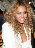 BEYONCE  blonde  kinky curly  human hair full lace  wig fast shipping