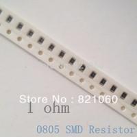 0805 SMD Resistors 1R 1 ohm 1/8W 5% 0805 SMD Resistors / 0805 Chip resistor (500pcs/lot)