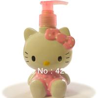 200ml  New Cute Hello Kitty Plastic Lotion Water Spray Atomizer Dispenser Bottle #004