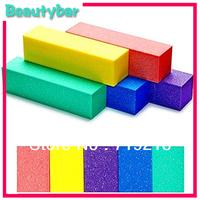 Free Shipping (50pcs/lot) Nail File Buffer  Sanding Files Block, Nail Art with buffer polish smooth shine