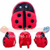 2013 3D Beetle the children's vintage cute cartoons bags /plush small backpacks for girls and boys the knapsacks are children's
