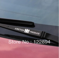 Refires jp car stickers quality ultra-thin metal stickers car door handles car stickers wiper dad free shipping