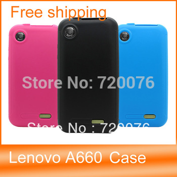 For Lenovo a660 TPU case, phone case protective case a660 skidproof cover cases +fast  free shipping