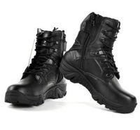 Male SWAT U.S. Delta Military Tactical Boots Army Desert Combat Shoes For Men Black Color Freeshipping