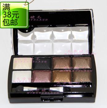 8 eye shadow 2 blush 1 powder make-up set eye shadow plate bare ribbon mirror eye shadow brush 8843
