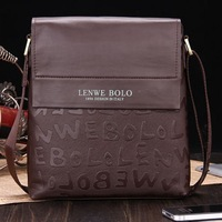 2013 Free shipping classical man briefcase, business bag man, with genuine leather, excellent quality. TB-60