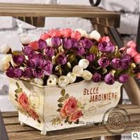 Rustic home decoration silk flower artificial flower decoration artificial flowers artificial flower single 15 mini