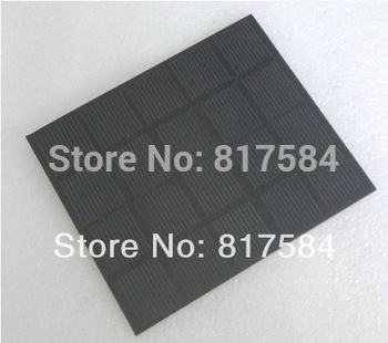 Free shipping Solar panels Epoxy board polycrystalline  2W 5V 400MA  experimental test DIY.energy solar power