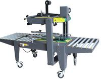 Economic semi-automatic carton sealing machinery(Top&Bottom seal),box case adhensive taping sealer,package packing equipment