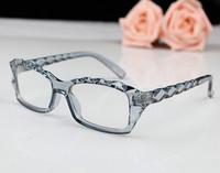 Transparent eyeglasses frame glasses frame myopia frame fashion eyeglasses plain glass spectacles non-mainstream decoration