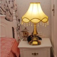Fashion table lamp bed-lighting vintage elegant fashion living room lights bedroom lamps