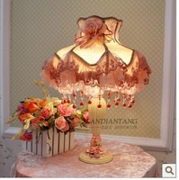 Luxury fashion vintage bedside lamp lighting 2013 holiday sale