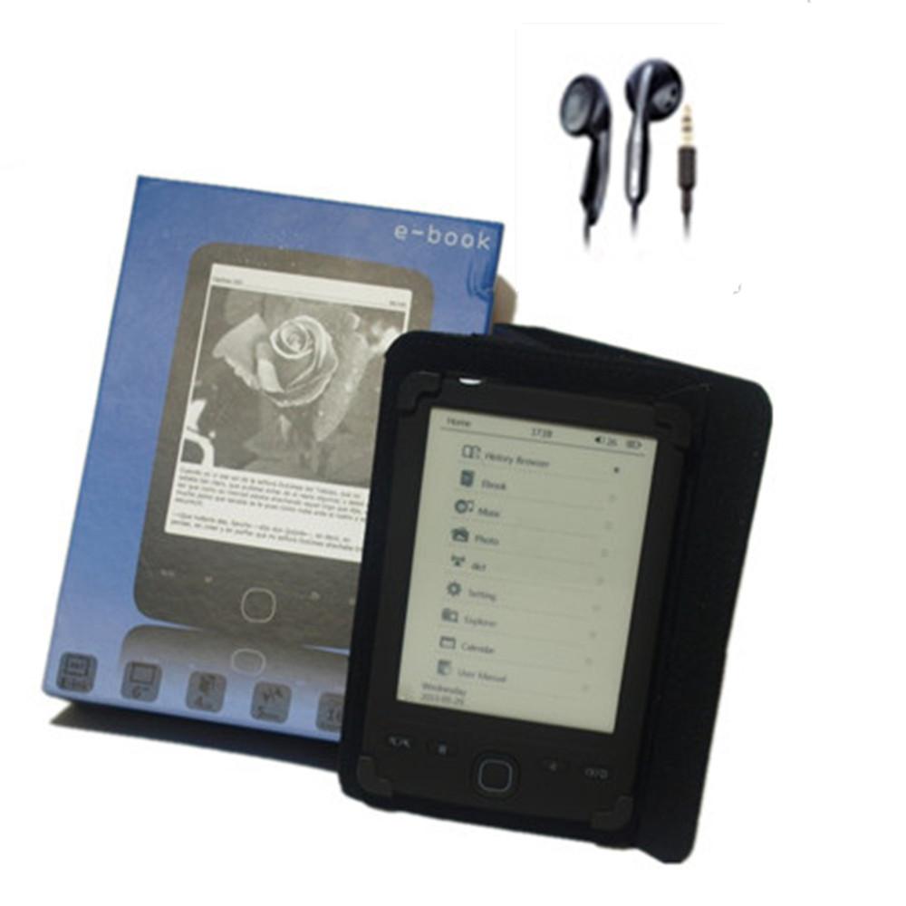 de libros, 6'' e-tinta pantalla, gris 16 nivel/escala, gb 4, de la