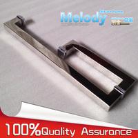 Frameless Shower Door Square tube Handle L shape 304 stainless steel Chrome