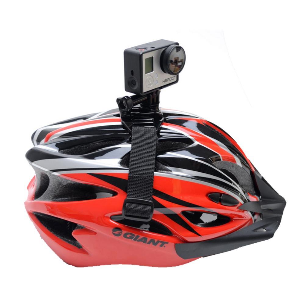High quality nylon vented helmet strap mount for gopro hero3 hero3