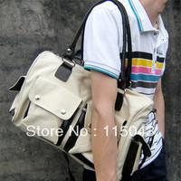 Free Shipping 2013 Promotion Men Women Canvas Handbags 3 Colors Cotton Travel Duffle Bags Fashion Luggage Bag MIN-005