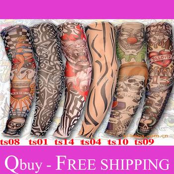 Free shipping, Fish protection sun tatoo Sleeves, radiation protection tattoo sleeves, personal arm tattoo sleeve