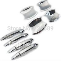 $10 off per $100 Auto door handle cover,door handle cover for Peugeot 206 307 308 408, ABS chrome,auto accessories
