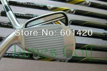 High quality R BLADEZ Golf Irons set with Fujikura Graphite or Steel shaft 4-9, PAS 9PCS Golf Clubs free headcover Freeship