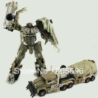 17cm Megatron 3C Domestic Voyager Deformation Robot Dark of the Moon Action Figures boy's birthday toy Without original box