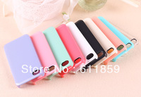 Free Shipping White Blank Hard Cell Phone Case For iPhone4 Or iPhone 4S 100PCS/LOT 10 different colors
