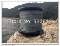 free shipping  gray dyneema braided fishing line fishing tackle 1000M 8LB--80LB