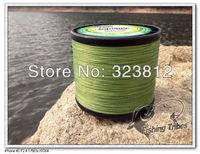 new 2014 Wholesale - free shipping  grass green dyneema braided fishing line fishing tackle 1000M 8LB--80LB