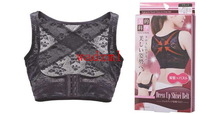 2pcs free shipping Breast Push Up Body Shaper Bra posture correction belt to improve the dorsal hump the  straight back