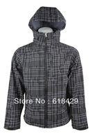 Free Shipping Polyster Print Mens/ Male Brand Fashion Softshell Outdoor Jacket JW03 Size S-XXL Windstopper