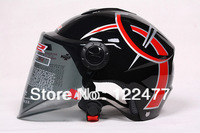 LS2-OF108-B.authentic electric vehicle motorcycle helmet, half helmet open face helmet,