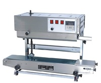100% Warranty SF-150D Vertical plastic bag band sealing machine,continuous band sealer