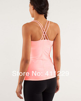 NWT Wholesale Lululemon Cool Racerback Lululemon Tank Cheap yoga woman shirt Size 2 4 6 8 10 12