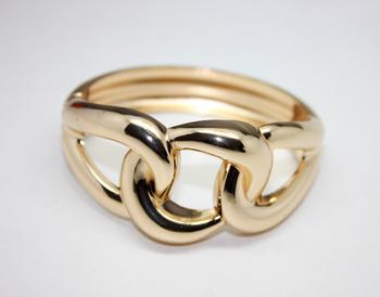 2014 Fashion&Decor,Women metal bracelet,two classic color. B2036