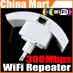 Wireless Router 300Mbps Wireless Wifi Repeater IEEE 802.11N Network Router Range Expander 300M Free Shipping(China (Mainland))