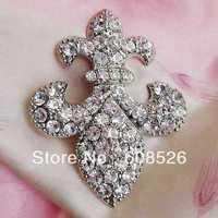 free shipping 1 piece fashion rhineston crystal anchor alloy brooch pins, Item No.: BH7099