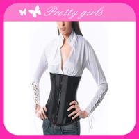 Sexy Black Adult Waist Training Slimming Vest underbust corset shaper