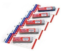 U-STAR Mini Abrasive Paper Kit, 5pcs Together, UA-1613~7, #400, #600, #800, #1000, #2500, Size of 20mm*75mm / Sheet