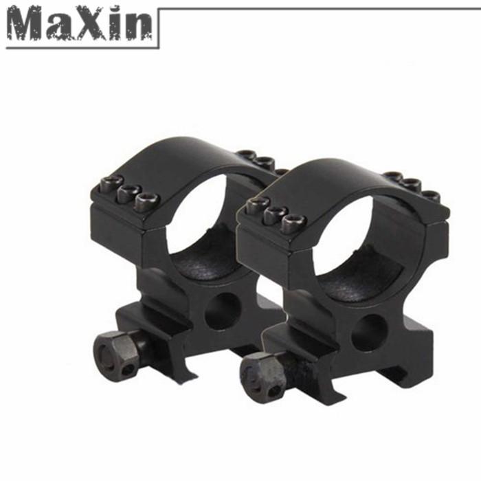2 pezzi/coppia 30mm anello 20mm tessitore montaggio su guida din in forma per la torcia/laser,/portata/airsoft/pistola di alto profilo pesanti spedizione gratuita