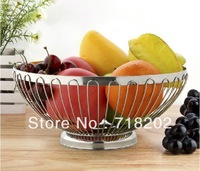 Stainless steel fruit plate/ fruit basket  20cm